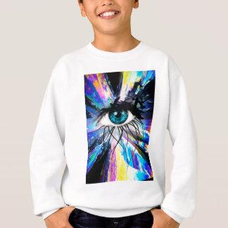 Wellcoda Beautiful Eye Art Pretty Face Sweatshirt