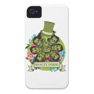 Wellcoda Beauty Inside Zombie Beast Head iPhone 4 Covers