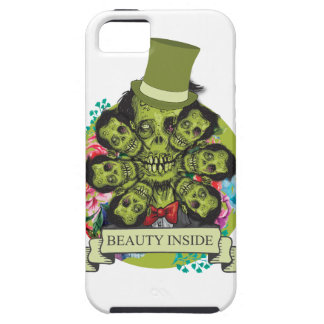 Wellcoda Beauty Inside Zombie Beast Head iPhone 5 Covers