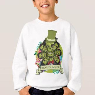 Wellcoda Beauty Inside Zombie Beast Head Sweatshirt