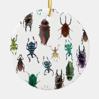 Wellcoda Beetle Type Habitat Insect Life Christmas Ornament