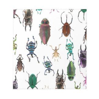 Wellcoda Beetle Type Habitat Insect Life Notepad