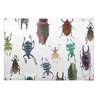 Wellcoda Beetle Type Habitat Insect Life Placemat