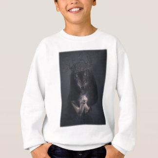 Wellcoda Big Bad Wolf Woman Evil Queen Sweatshirt