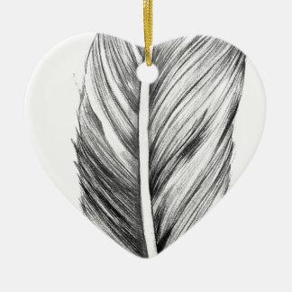 Wellcoda Bird Of A Feather Life Dream Fun Ceramic Heart Decoration