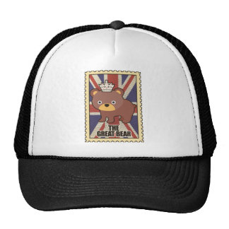 Wellcoda British Great Bear GB Identity Cap