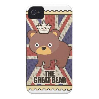 Wellcoda British Great Bear GB Identity iPhone 4 Cover