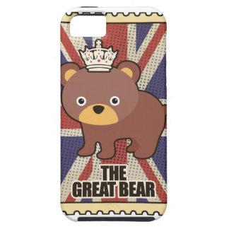 Wellcoda British Great Bear GB Identity iPhone 5 Case