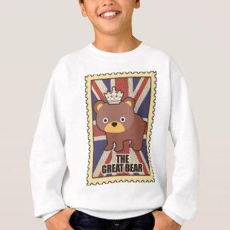 Wellcoda British Great Bear GB Identity Sweatshirt