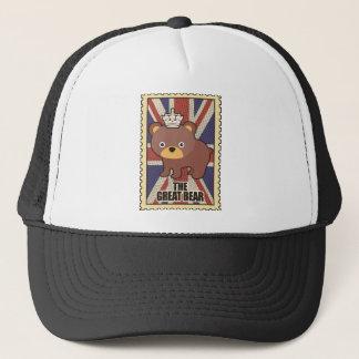 Wellcoda British Great Bear GB Identity Trucker Hat