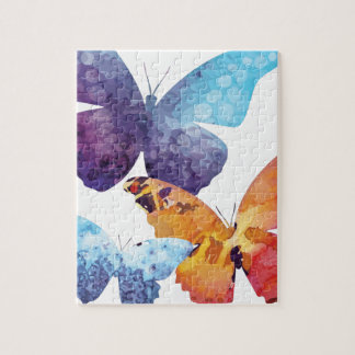 Wellcoda Butterfly Nature Love Beauty Life Puzzle