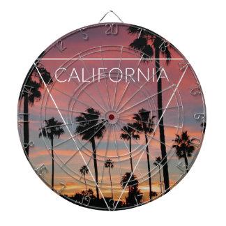 Wellcoda California Palm Beach Sun Spring Dartboard