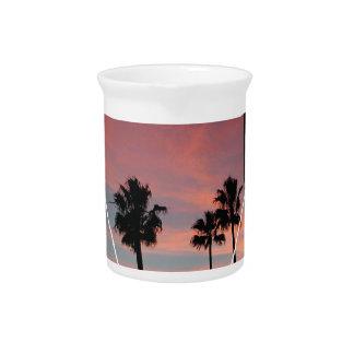 Wellcoda California Palm Beach Sun Spring Pitcher