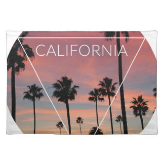 Wellcoda California Palm Beach Sun Spring Placemat