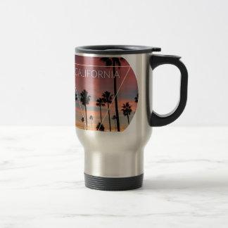 Wellcoda California Palm Beach Sun Spring Travel Mug