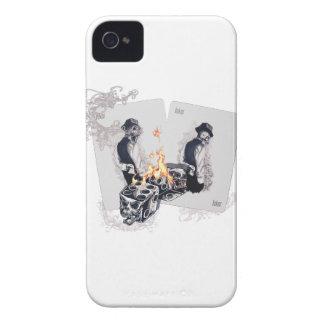 Wellcoda Casino Play Fire Dice Hustler Case-Mate iPhone 4 Cases