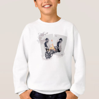 Wellcoda Casino Play Fire Dice Hustler Sweatshirt