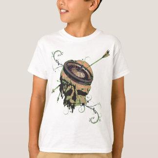 Wellcoda Casino Roulette Skull Gamble Bet T-Shirt