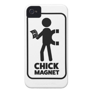 Wellcoda Chick Magnet Money Funny Joke iPhone 4 Case-Mate Case