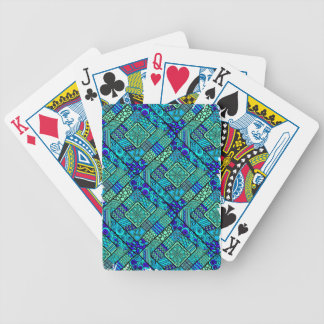 Wellcoda Chinese Style Pattern Crazy Vibe Bicycle Playing Cards