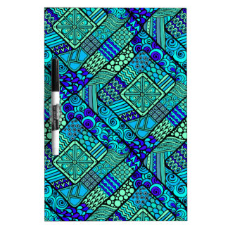 Wellcoda Chinese Style Pattern Crazy Vibe Dry-Erase Whiteboards