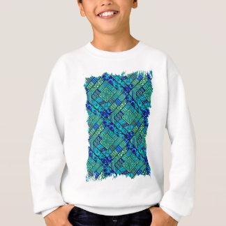 Wellcoda Chinese Style Pattern Crazy Vibe Sweatshirt