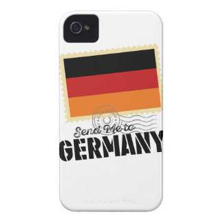 Wellcoda Classic Germany Flag World Map Case-Mate iPhone 4 Case
