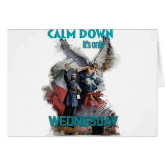 Wellcoda Classic Wednesday Painting Art Card