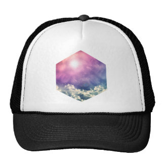 Wellcoda Cloud Sky Hexagon Love Shape Fun Cap