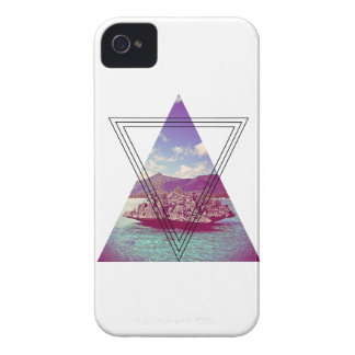 Wellcoda Coral Island Holiday Summer Fun iPhone 4 Case-Mate Case