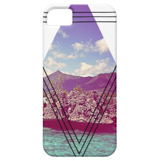 Wellcoda Coral Island Triangle Paradise Case For The iPhone 5