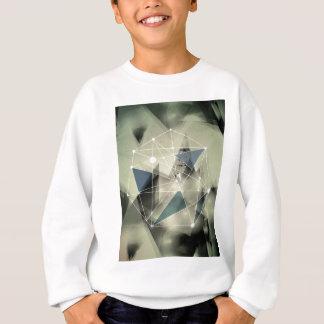 Wellcoda Crazy Abstract Print Geometric Sweatshirt