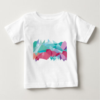 Wellcoda Crazy Abstract Shape Future Life Baby T-Shirt