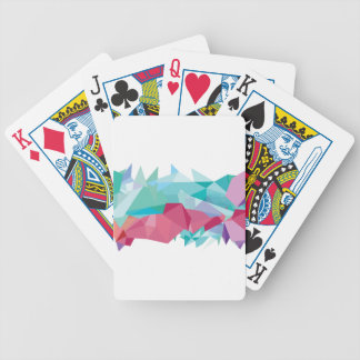 Wellcoda Crazy Abstract Shape Future Life Bicycle Playing Cards