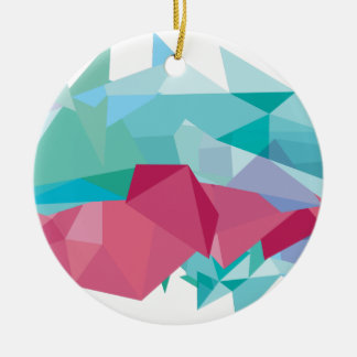 Wellcoda Crazy Abstract Shape Future Life Christmas Ornament