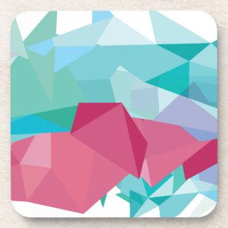 Wellcoda Crazy Abstract Shape Future Life Coaster
