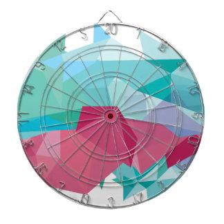 Wellcoda Crazy Abstract Shape Future Life Dartboard