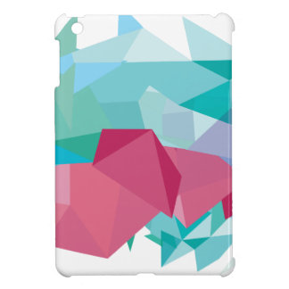 Wellcoda Crazy Abstract Shape Future Life iPad Mini Cases