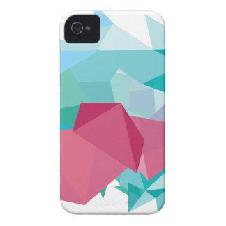 Wellcoda Crazy Abstract Shape Future Life iPhone 4 Case