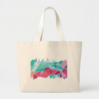 Wellcoda Crazy Abstract Shape Future Life Large Tote Bag