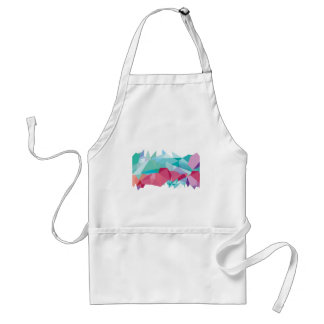 Wellcoda Crazy Abstract Shape Future Life Standard Apron