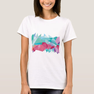 Wellcoda Crazy Abstract Shape Future Life T-Shirt