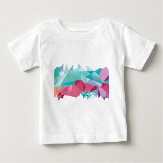 Wellcoda Crazy Abstract Shape Future Life Tshirt