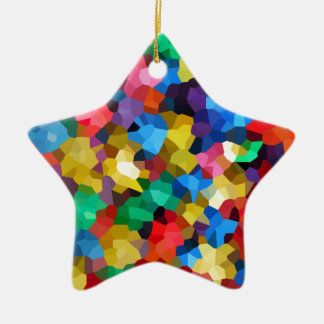 Wellcoda Crazy Colour Ball Pool Candy Life Ceramic Star Decoration