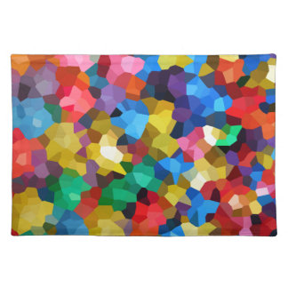 Wellcoda Crazy Colour Ball Pool Candy Life Place Mats