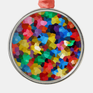 Wellcoda Crazy Colour Ball Pool Candy Life Silver-Colored Round Decoration