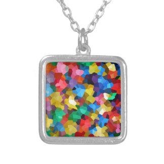 Wellcoda Crazy Colour Ball Pool Candy Life Silver Plated Necklace