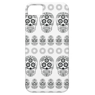 Wellcoda Crazy Epic Skull Print Small Face iPhone 5 Cover