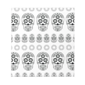Wellcoda Crazy Epic Skull Print Small Face Notepads