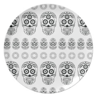 Wellcoda Crazy Epic Skull Print Small Face Plate